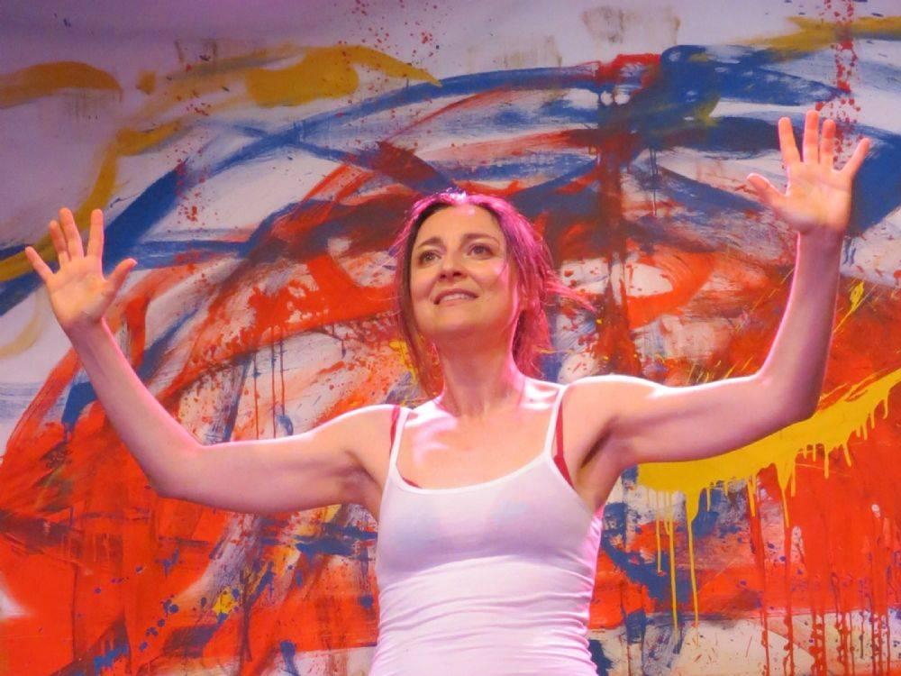 Uno scatto dell'attrice Paola Negrin