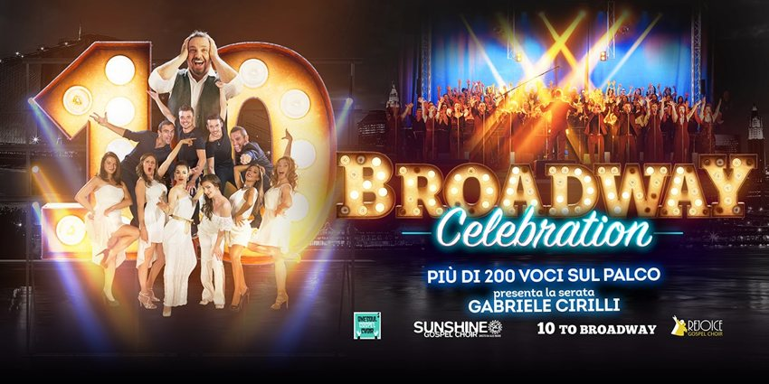 Broadway celebration - Locandina