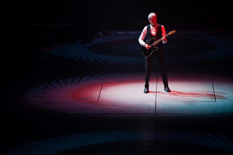 Claudio Baglioni- Al Centro tour live
