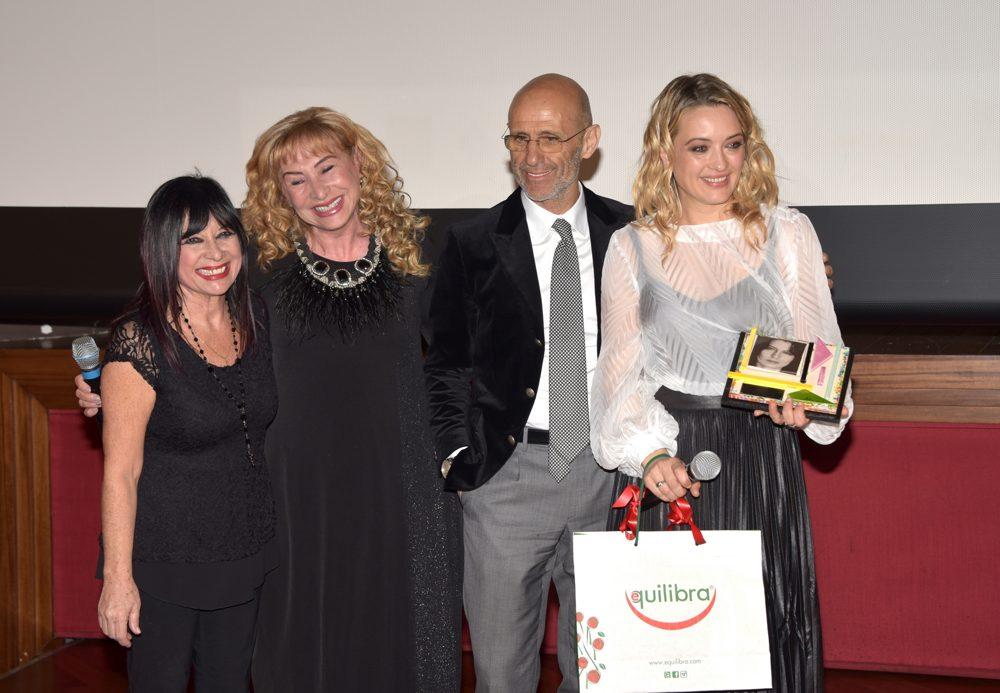 Francesca Piggianelli, Maria Zuccarelli, Marcello Foti e Carolina Crescentini
