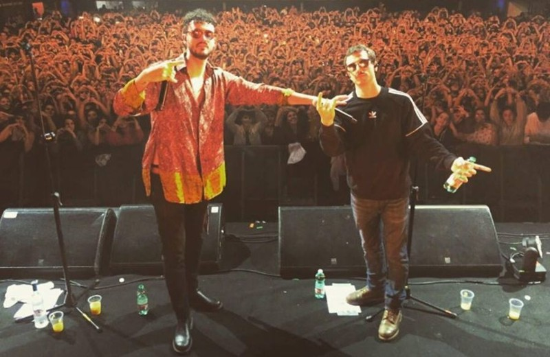 Franco 126- Tour 2018 con Carl Brave