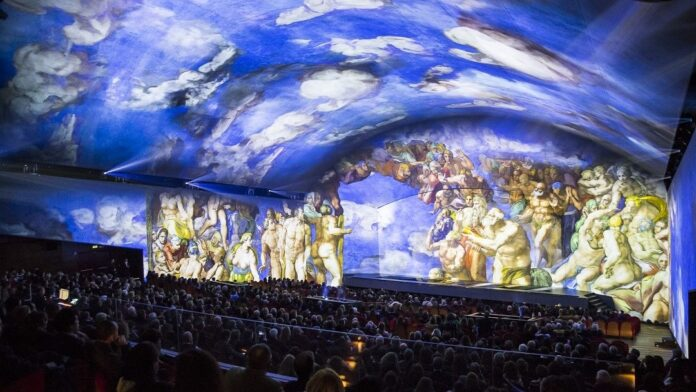 Giudizio Universale. The Sistine Chapel Immersive Show ph_LucaParisse