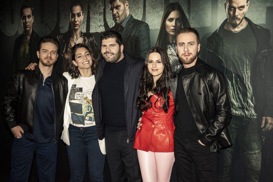 Gomorra 4 cast - Arturo Muselli, Cristiana Dell'Anna, Salvatore Esposito, Ivana Lotito, Loris De Luna