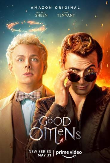 Good Omens - locandina Amazon Prime Video