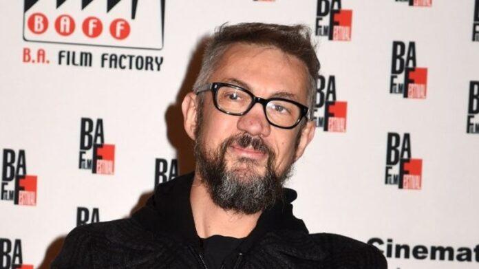 Il regista Max Croci