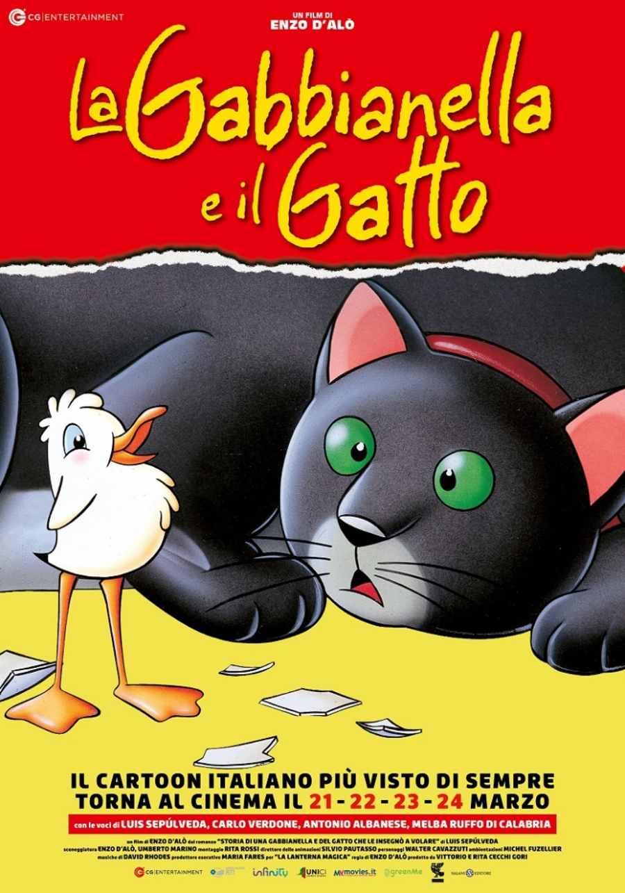 La Gabbianella e il Gatto - locandina