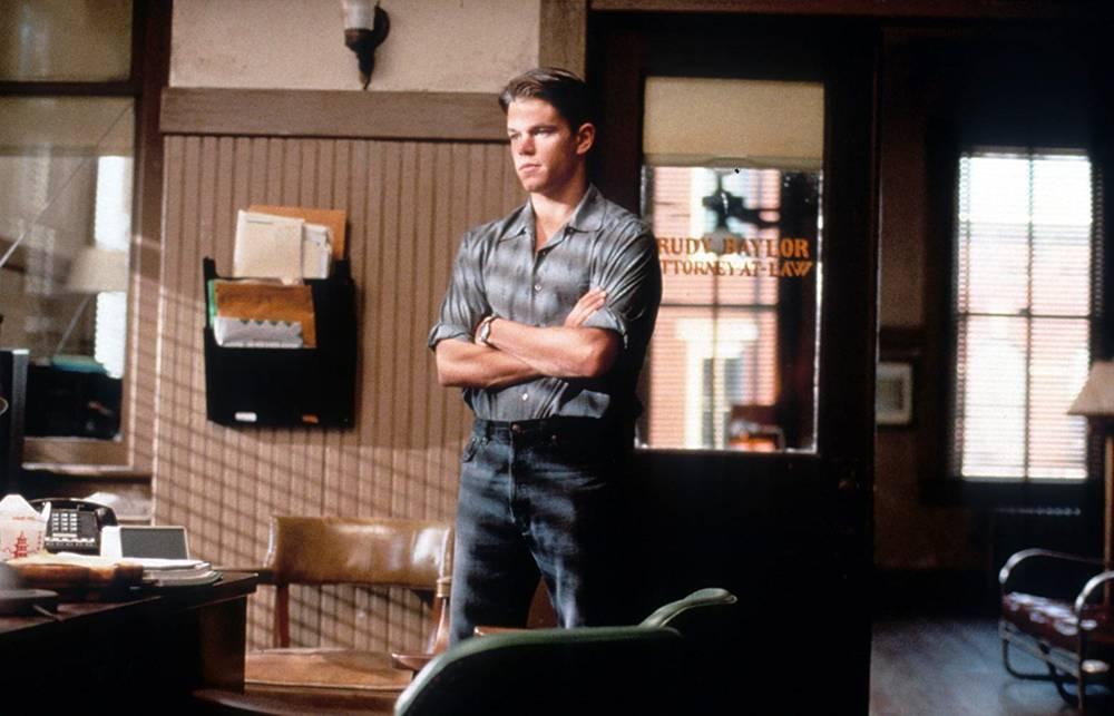 Matt Damon in L'uomo della pioggia