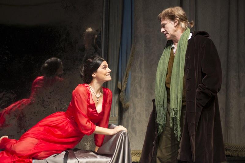 Misantropo con Valeria Solarino e Giulio Scarpati - Foto di Lanzetta Capasso