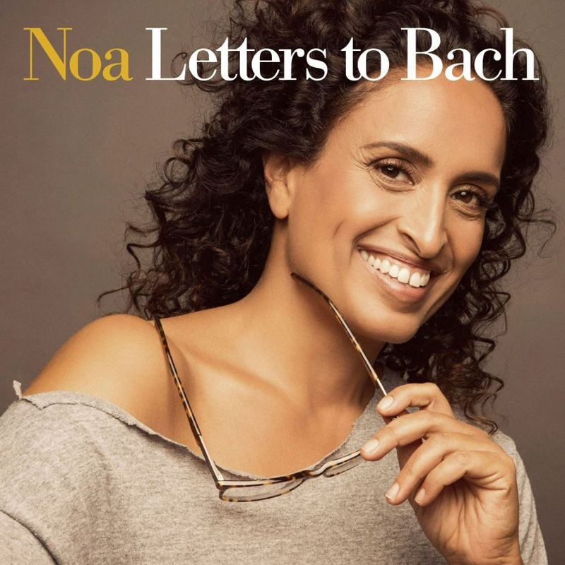Noa-Letters to Bach cover
