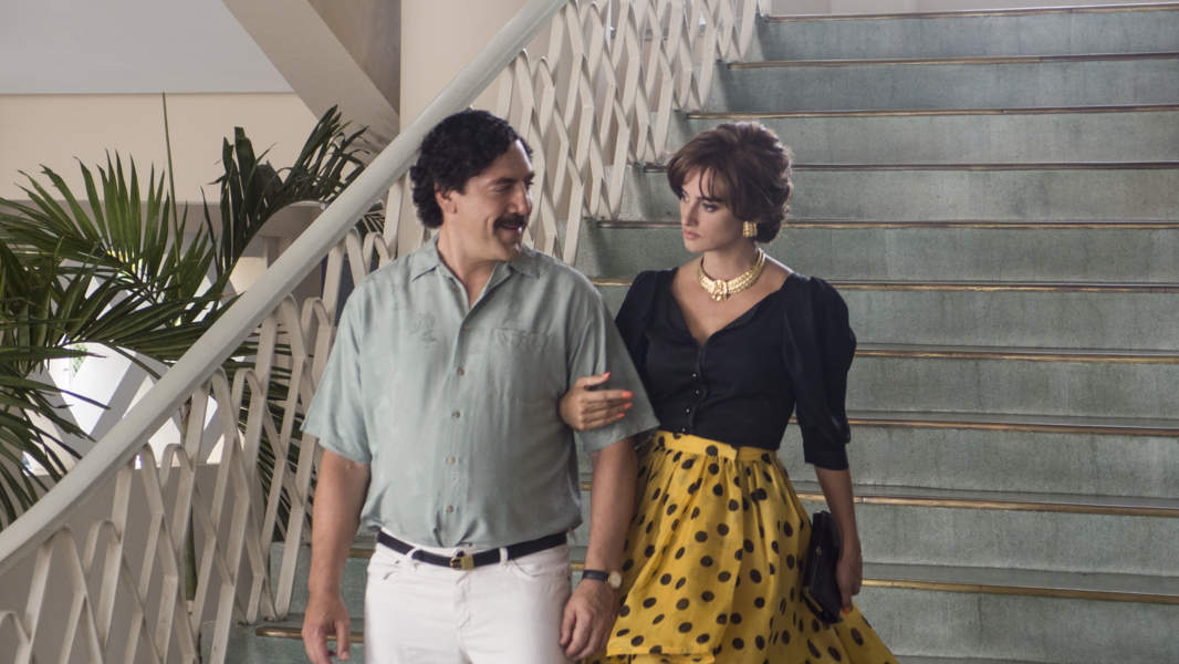 Sky Cinema - Javier Bardem e Penelope Cruz in Pablo Escobar