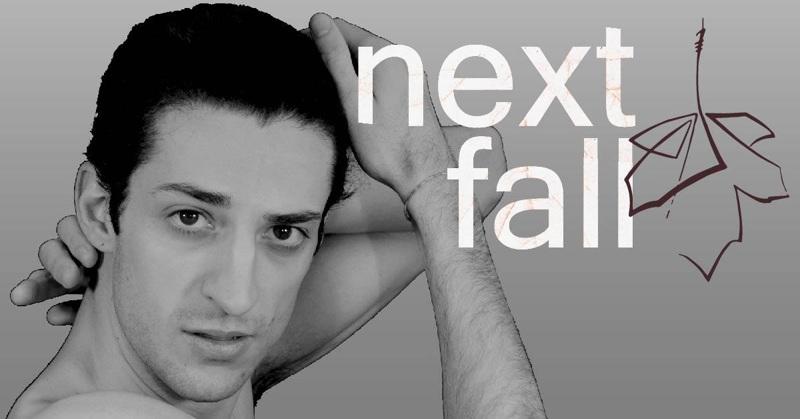 Tommaso Paolucci in una posa per Next Fall