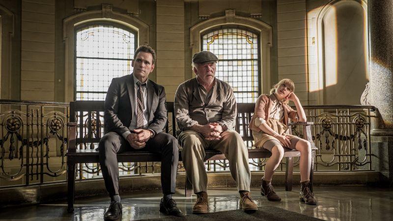 Un viaggio indimenticabile: Matt Dillon, Nick Nolte e Sophia Lane Nolte in una scena del film