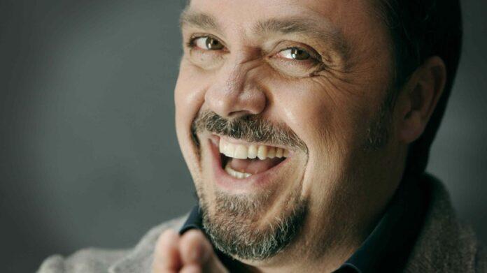 Uno scatto dell'attore Gabriele Cirilli
