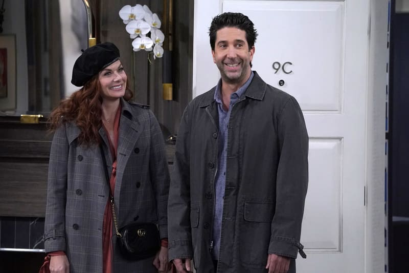 Will & Grace - Debra Messing e David Schwimmer