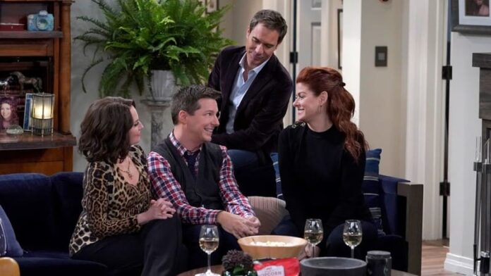 Will & Grace - Megan Mullally, Sean Hayes, Eric McCormack, Debra Messing