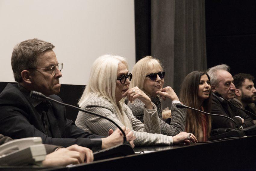 Angelo Longoni, Loretta Goggi, Daniela Goggi e Claudia Conte