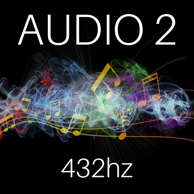 Audio 2- 432hz cover