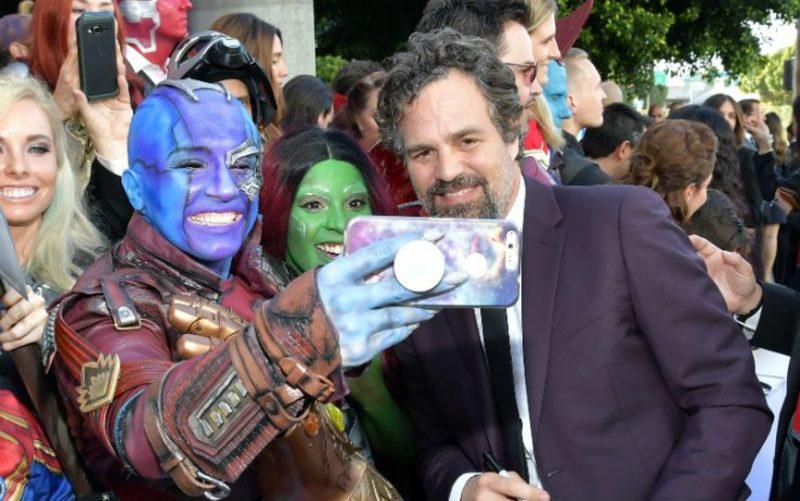 Avengers Endgame Premiere - Mark Ruffalo