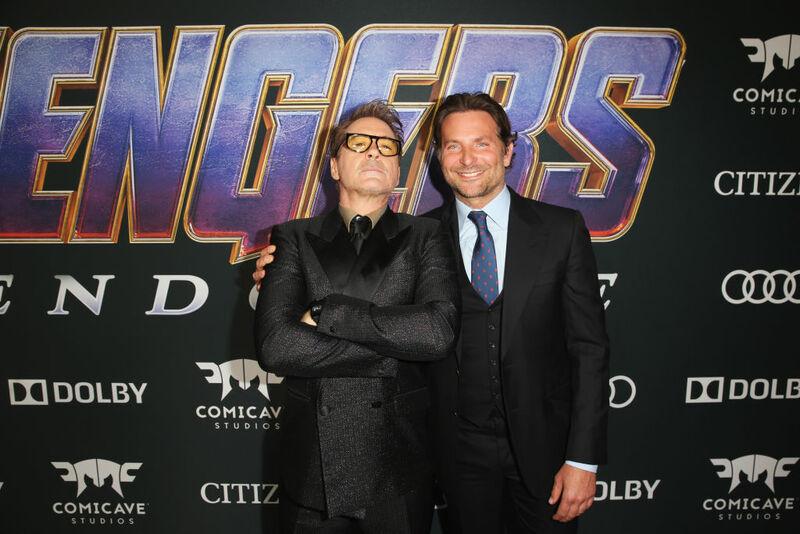 Avengers Endgame Premiere - Robert Downey Jr. e Bradley Cooper