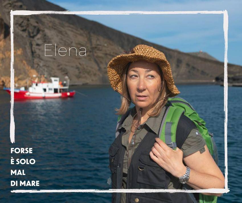 Barbara Enrichi è Elena in Forse è solo mal di mare
