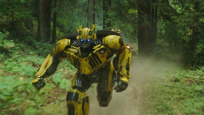 Bumblebee scena film