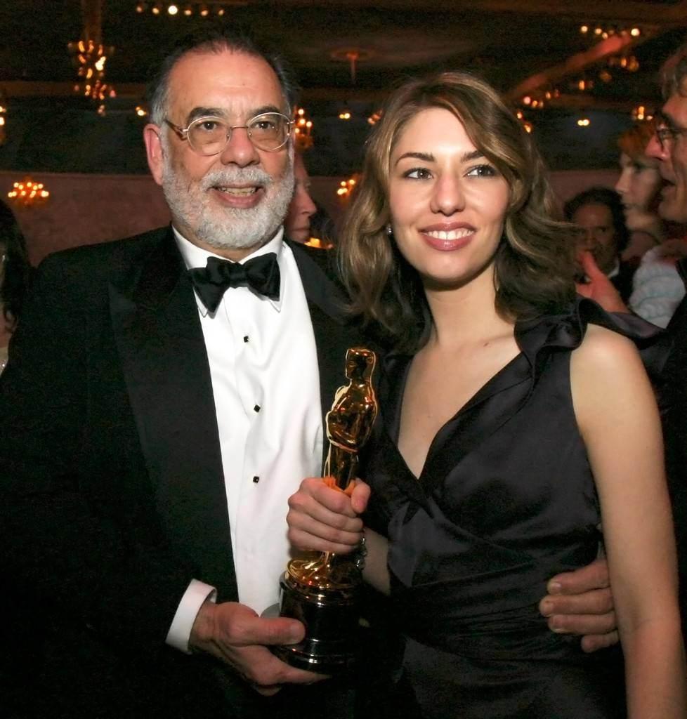 Coppola insieme alla figlia Sofia