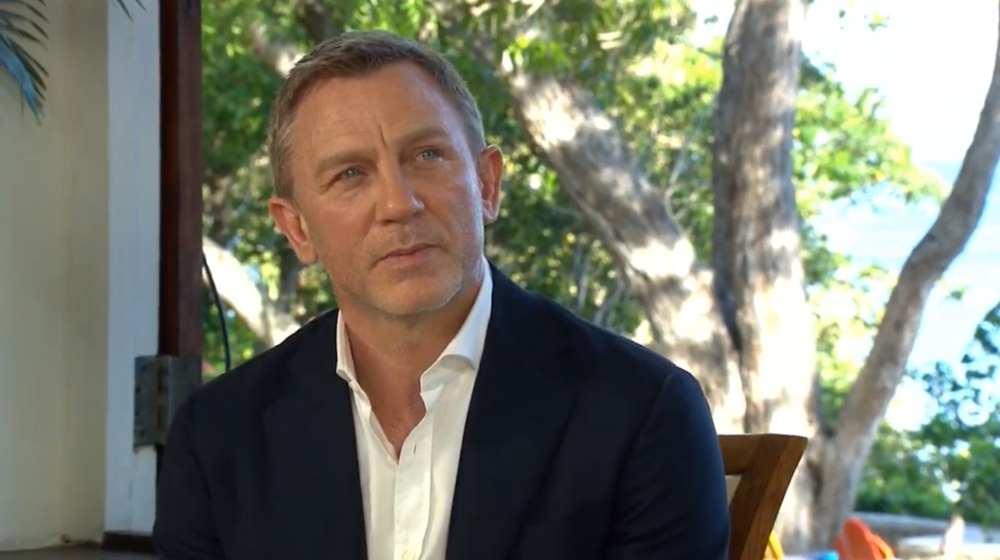 Daniel Craig - lancio Bond 25