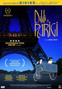 Dililì a Parigi - locandina