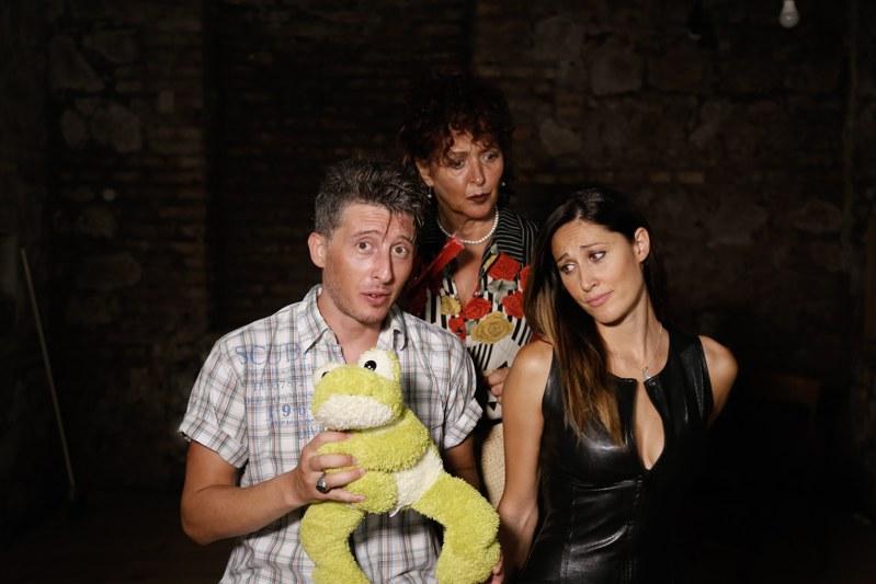 Emiliano De Martino, Noemi Giangrande e Laura Sorel per 40 mq