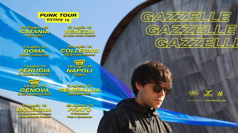 Gazzelle - Punk tour estate 2019