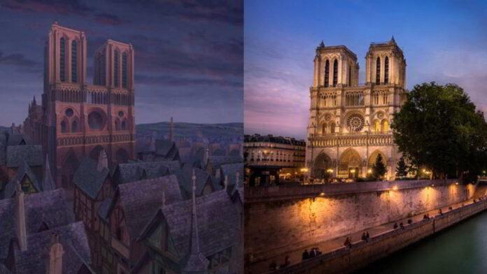 Il-Gobbo-di-Notre-Dame-Cattedrale-di-Notre-Dame-Parigi-Francia