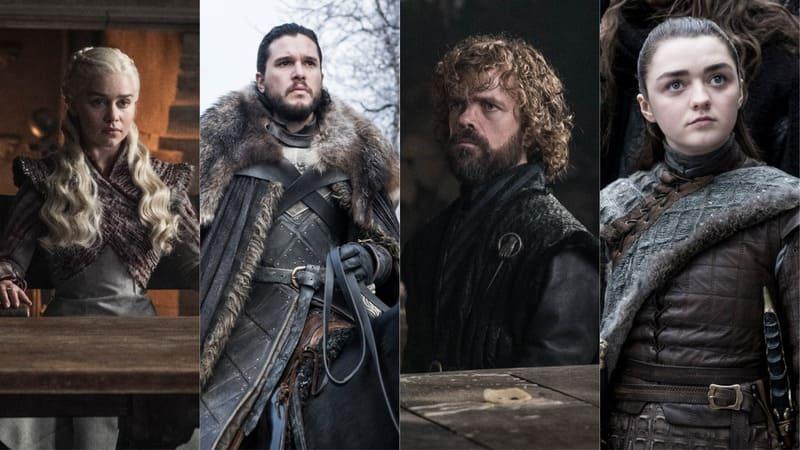 Il Trono di Spade 8 - Daenerys Targaryen, Jon Snow, Tyrion Lannister, Arya Stark