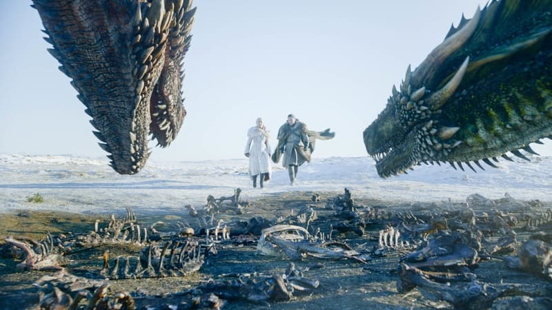 Il Trono di Spade 8 (Game of Thrones 8) - Daenerys, Jon Snow e i draghi