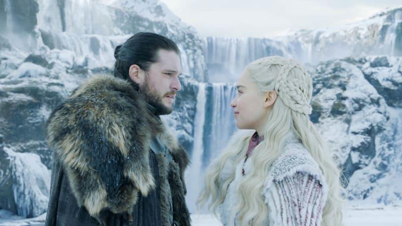Il Trono di Spade 8 (Game of Thrones 8) - Kit Harington e Emilia Clarke (Jon Snow e Daenerys Targaryen)