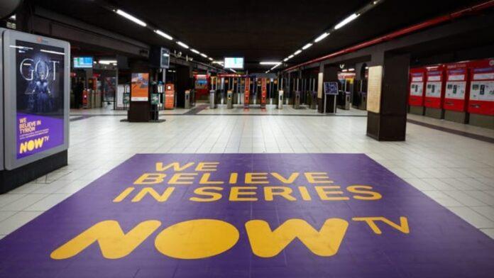 Il Trono di Spade - campagna adv NOW TV a Milano