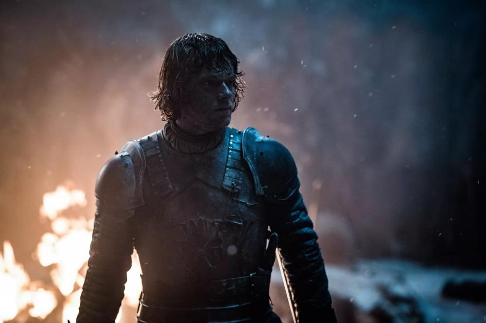 Il trono di spade - Alfie Allen (Theon Greyjoy) in una scena