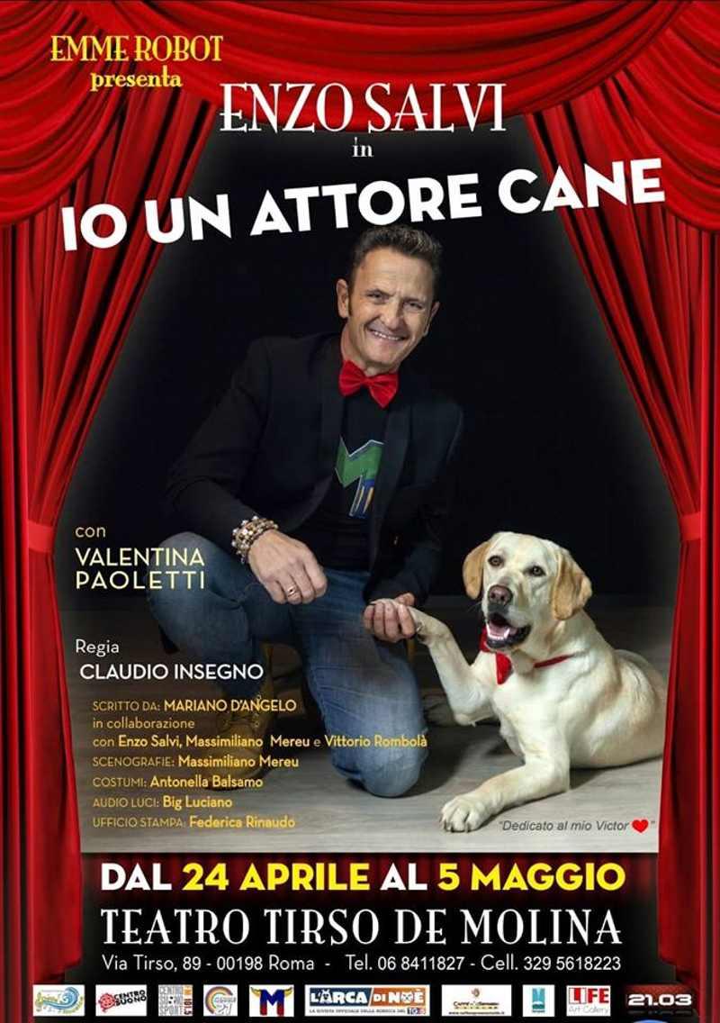 Io un attore cane - Locandina