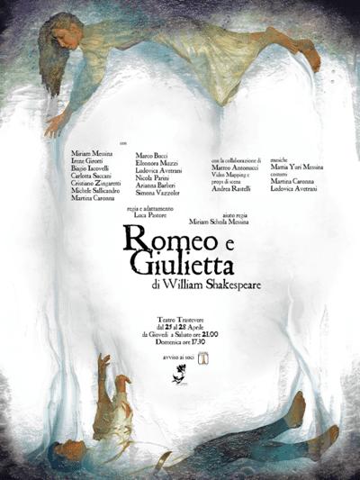 Romeo e Giulietta - locandina Teatro Trastevere