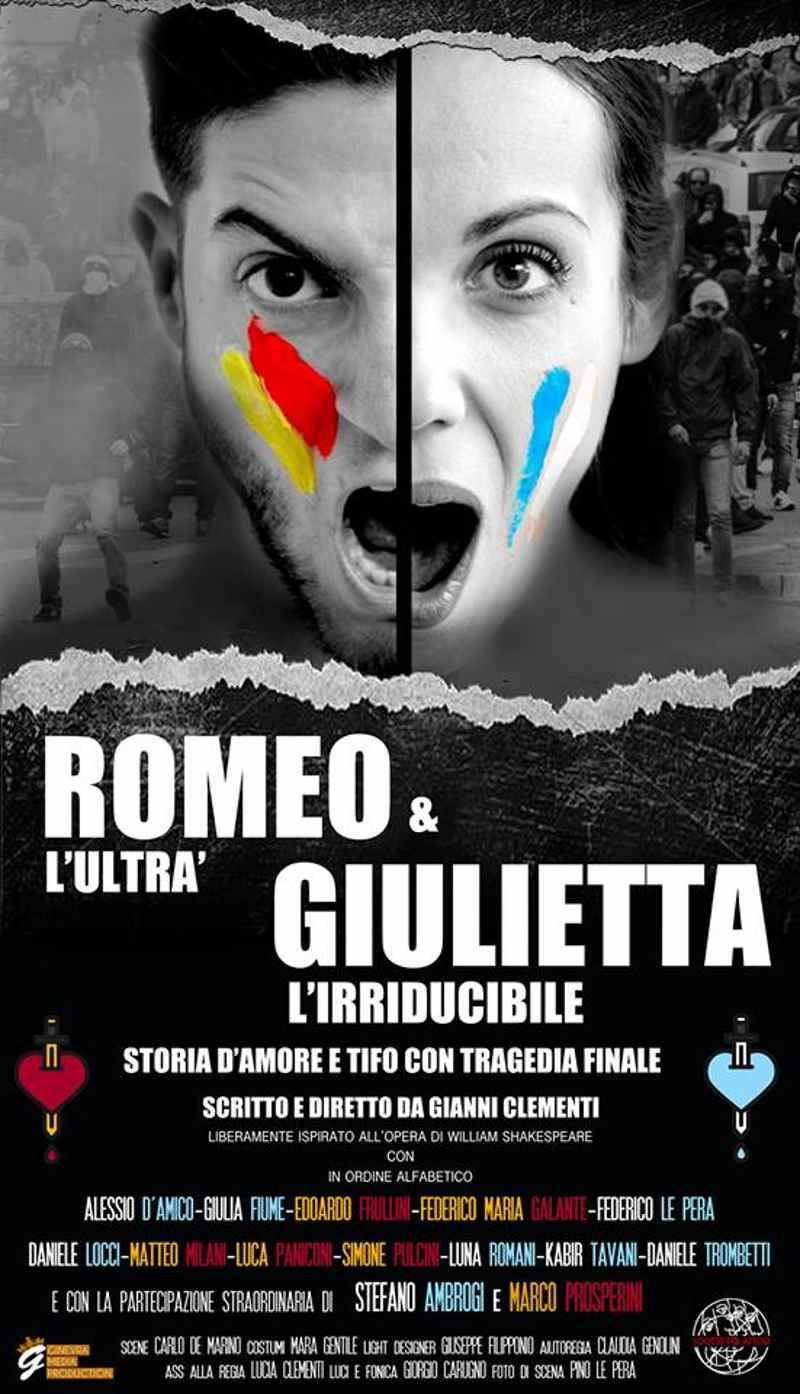 Romeo l'ultrà e Giulietta l'irriducibile - Locandina