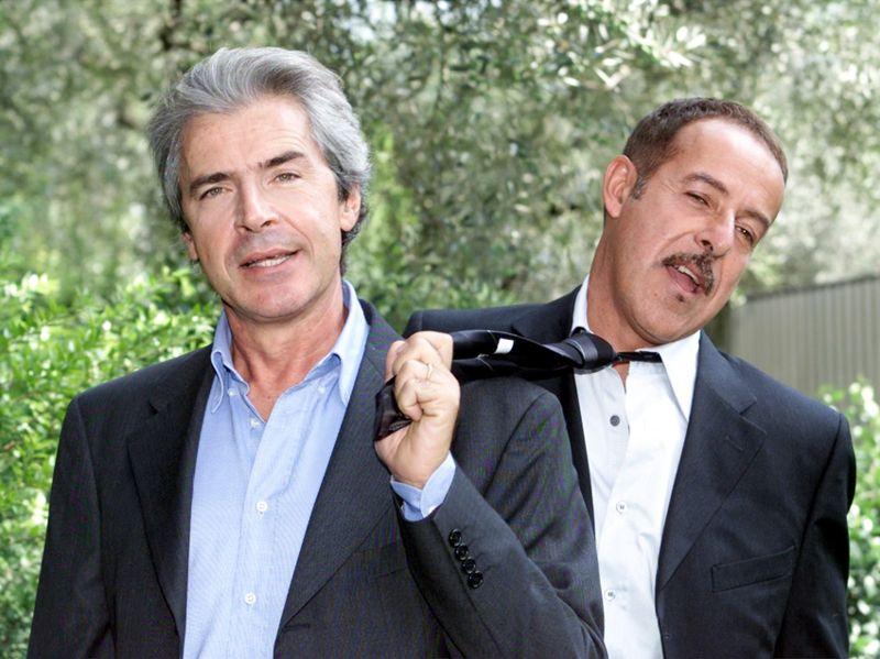 Solenghi e Lopez in uno scatto di qualche anno fa