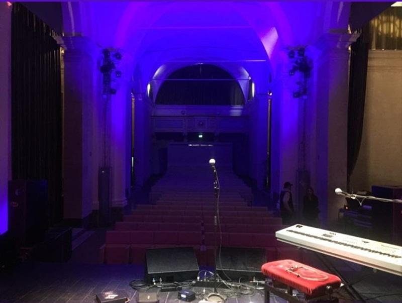 Teatro San Girolamo prima del concerto
