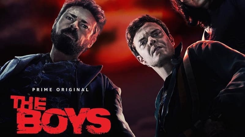 The Boys - banner Amazon Prime Video