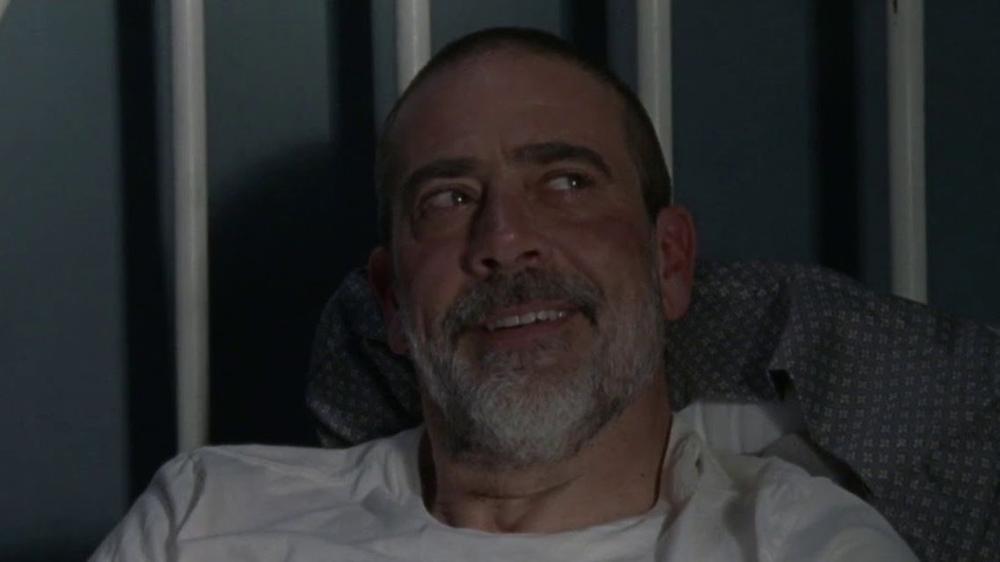 The Waalking Dead 9 - Jeffrey Dean Morgan nei panni di Negan nell'episodio coclusivo della nona stagione La tempesta