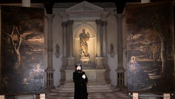 Tintoretto. Un ribelle a Venezia - Maria in lettura e Maria in meditazione