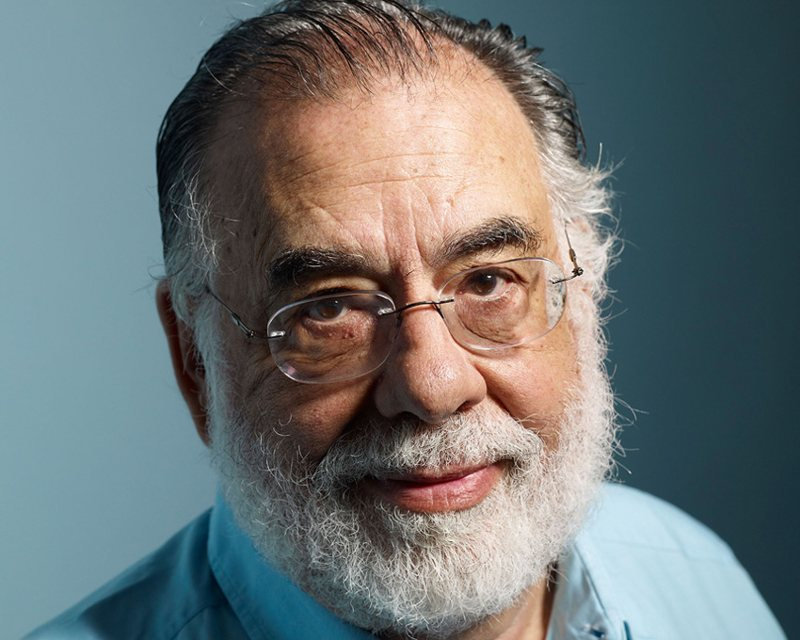 Uno scatto del regista Francis Ford Coppola