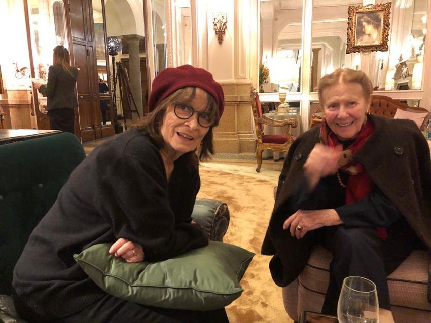 Arsenico e vecchi merletti con Annamaria Guarnieri e Giulia Lazzarini