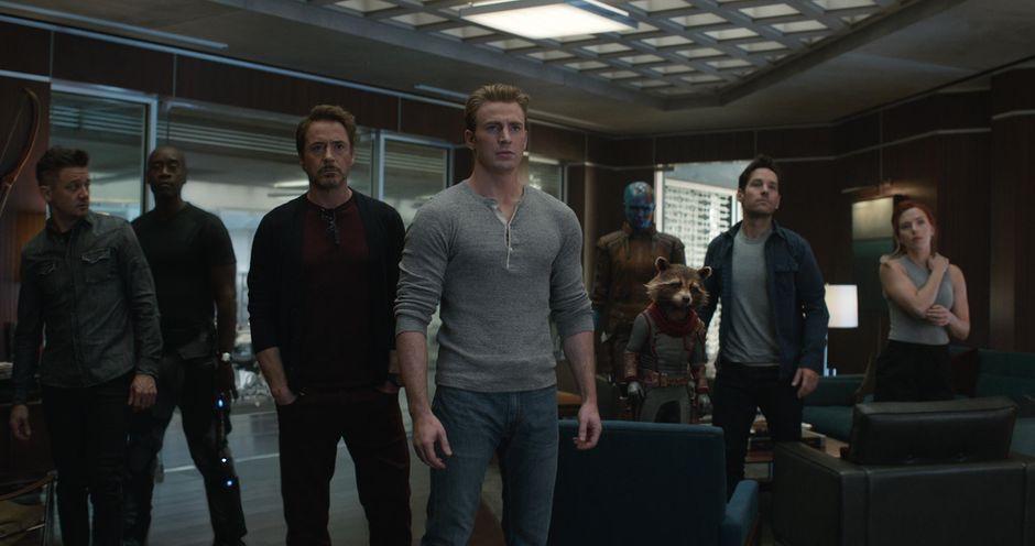 Avengers Endgame - Una scena del film