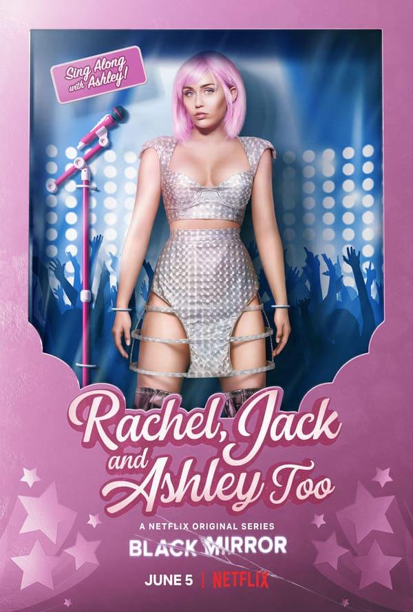 Black Mirror 5 - locandina Netflix Rachel, Jack and Ashley, Too