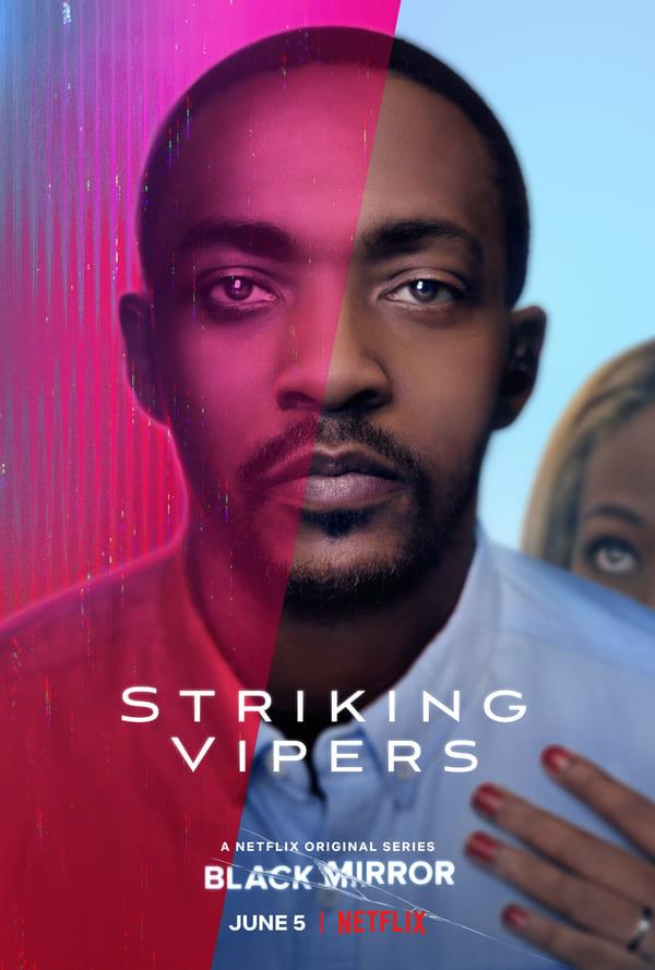 Black Mirror 5 - locandina Netflix Striking Vipers