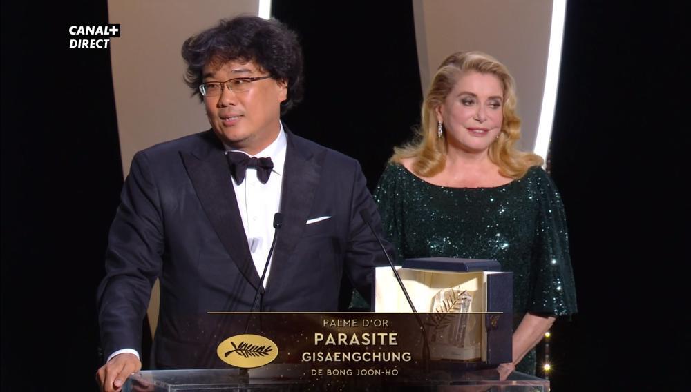 Cannes 2019 - Bong Joon-Ho Palma d'oro per Parasite